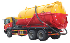 6x4 20,000L Isuzu sewage suction truck vacuum truck sale