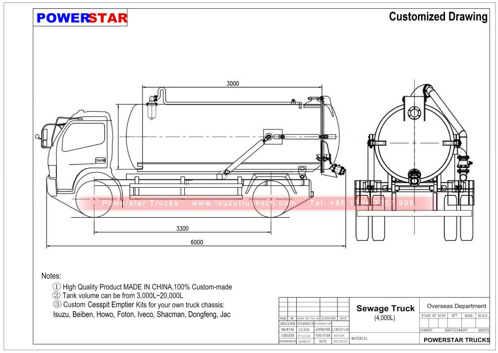 Strange Cost Effective 4000L Japan Vacuum Suction Vehicle Isuzu Vacuum Wiring Database Gramgelartorg