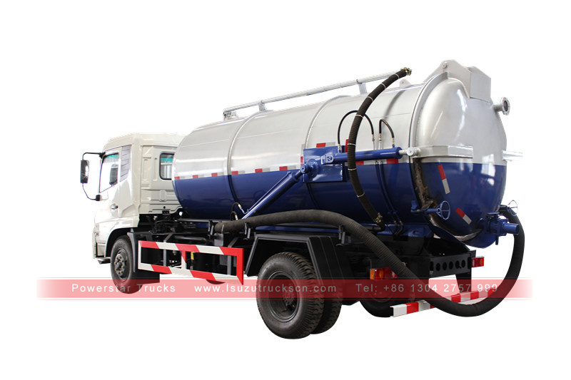 picture for Japan vacuum truck Isuzu (13,000 Liters)