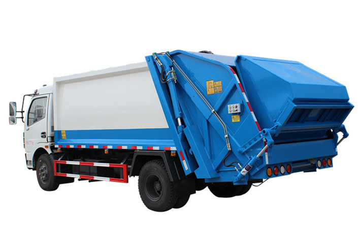 Garbage transport compactor truck supplier Powerstar trucks