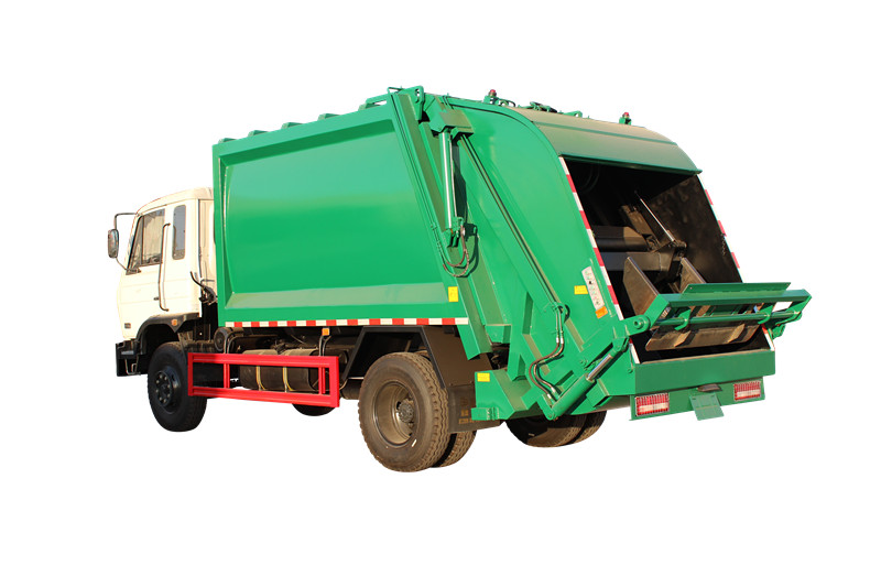 Powerstar brand Rear loader garbage truck for export