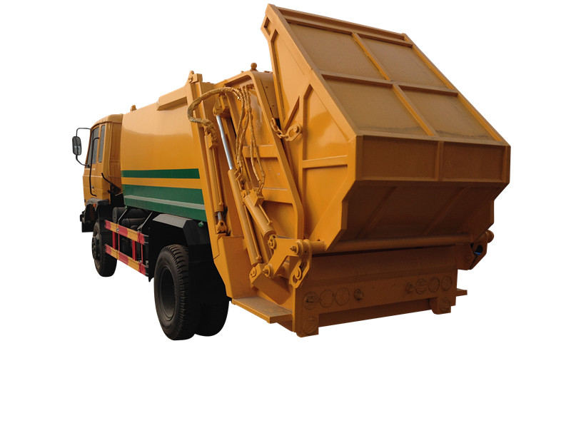 Philippines market Garbage compactor truck Isuzu for sale