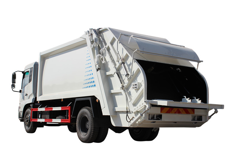 Powerstar waste collection compactor truck for Philippines