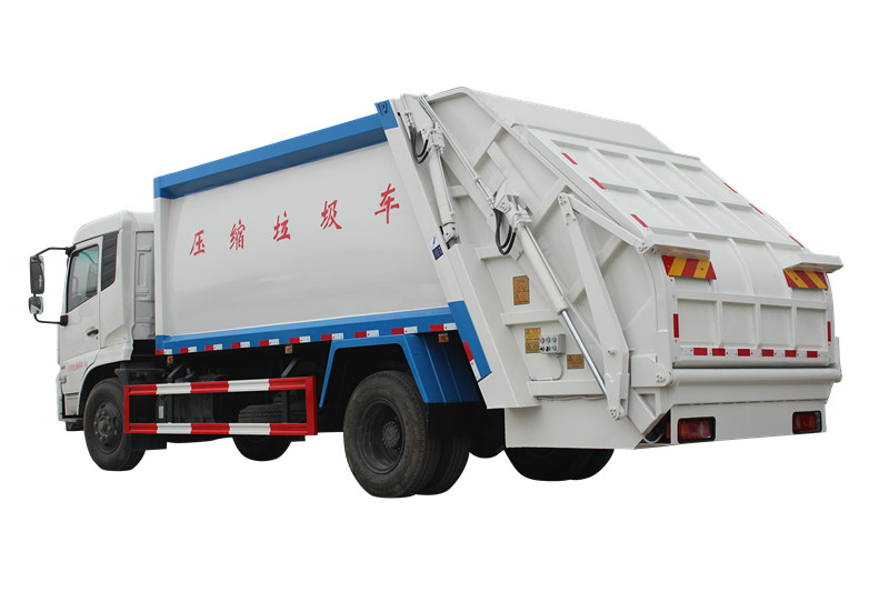 Isuzu Truck mounted solid waste compactors for Philippines