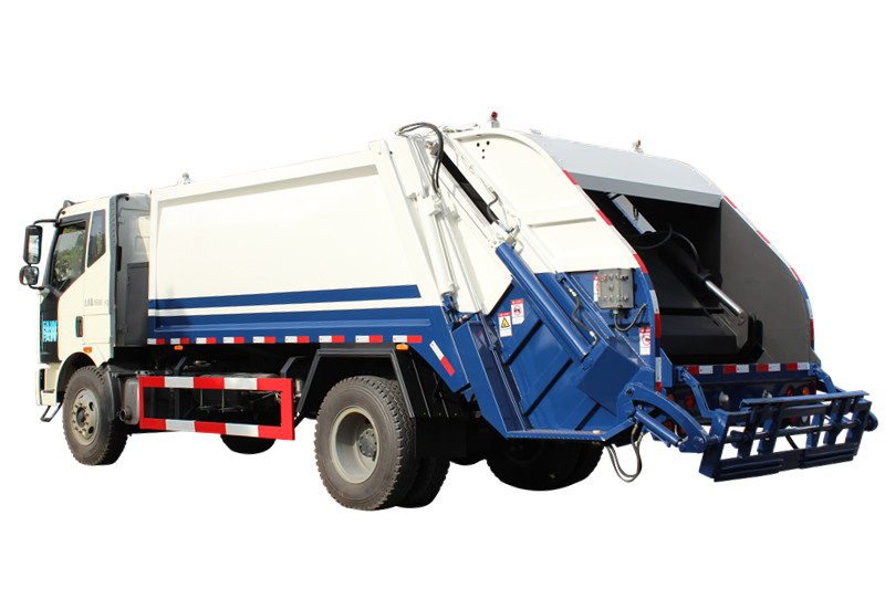 Japan Powerstar bramd Back loading garbage compression truck