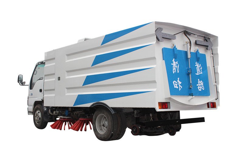 Japan Isuzu Truck mounted road sweeper by powerstar