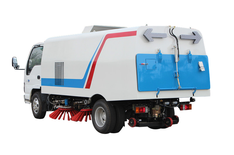 Sanitation vacuum road sweeper truck for philippines market