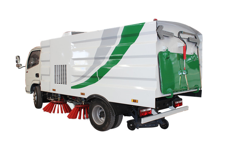 brand new road sweeper truck for Myanmar clients