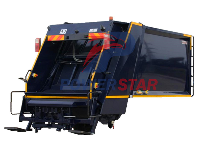 Super -structure for Waste collector truck