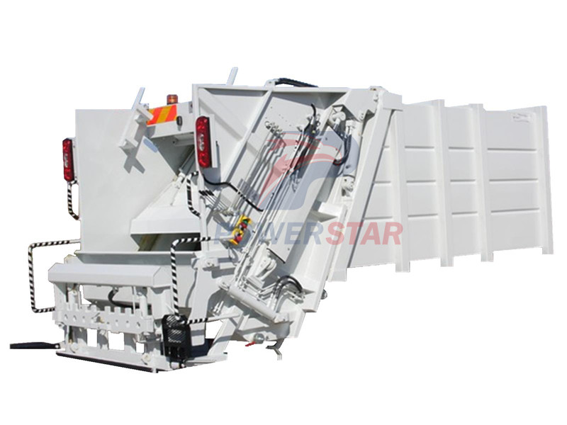 Body kit for Hydraulic Garbage Compactor Truck