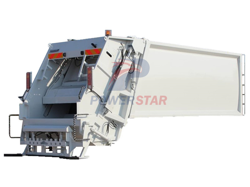 Hydraulic compactor system for Industrial garbage trucks