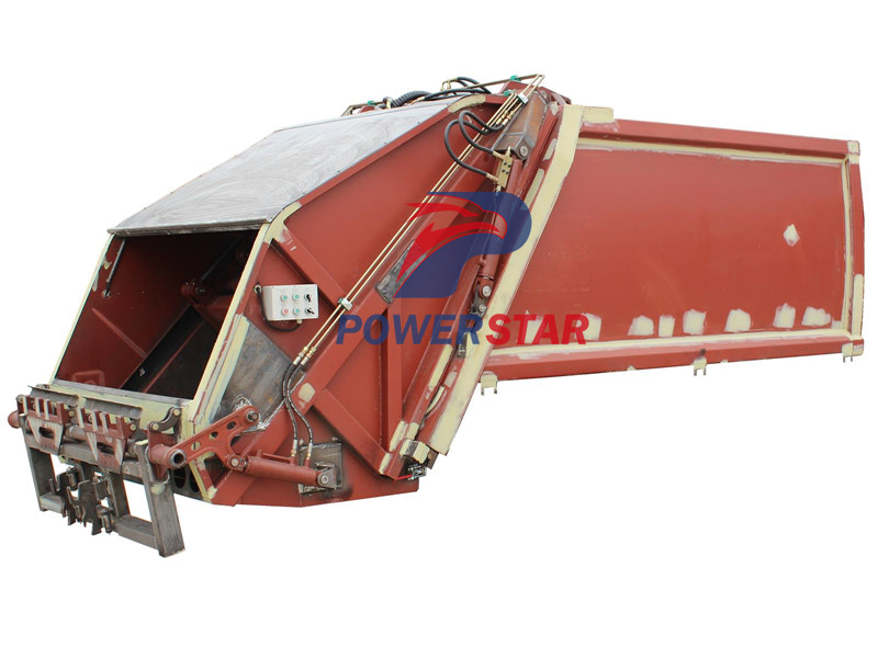 10tons Waste compactor vehicle up structure by Powerstar trucks