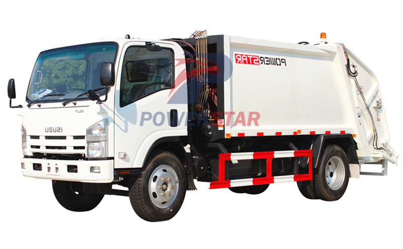 NPR Compression Garbage Truck ISUZU ELF