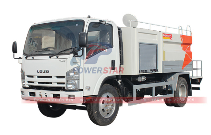 Water high pressure jetting vehicle Isuzu