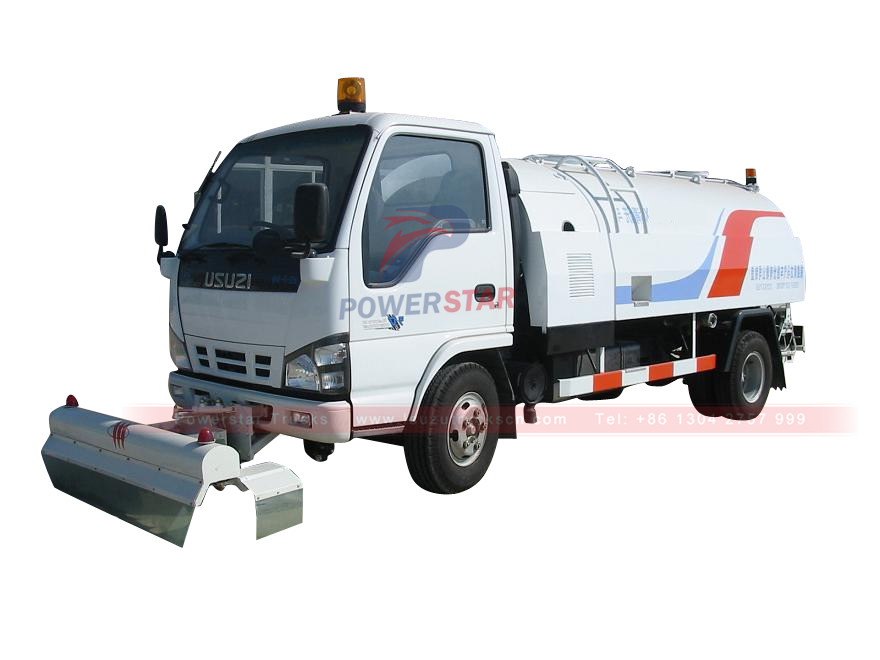 Powerstar brand Water jetting trucks Isuzu