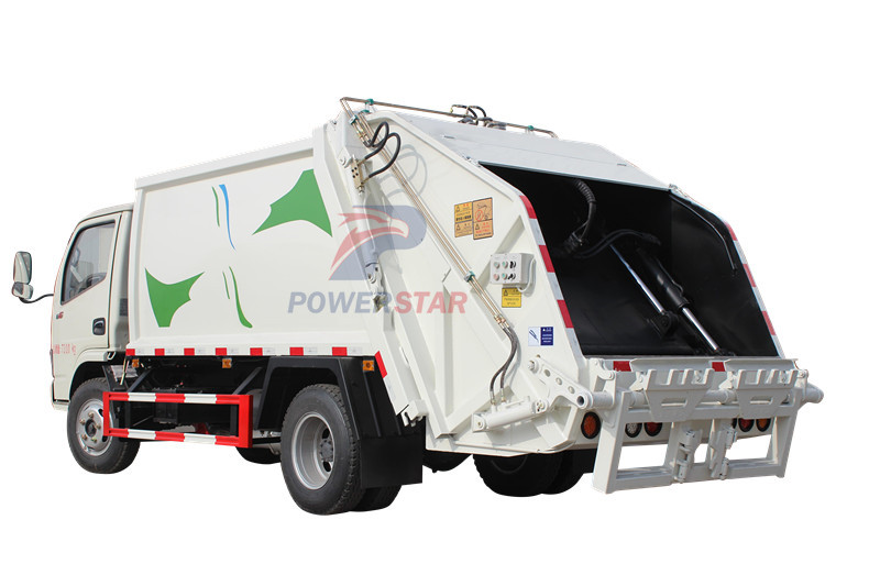 waste collection compactor truck Isuzu