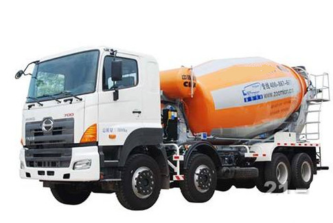 Japan Hino Cement truck Concrete mixer