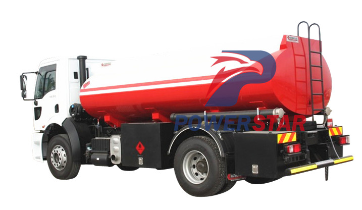 case picture of Nigeria Fuel Tank Truck Isuzu 16,000L