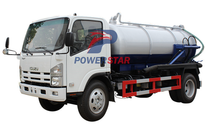 image for Sewer septic vacuum trucks Isuzu (8,000 Liters)
