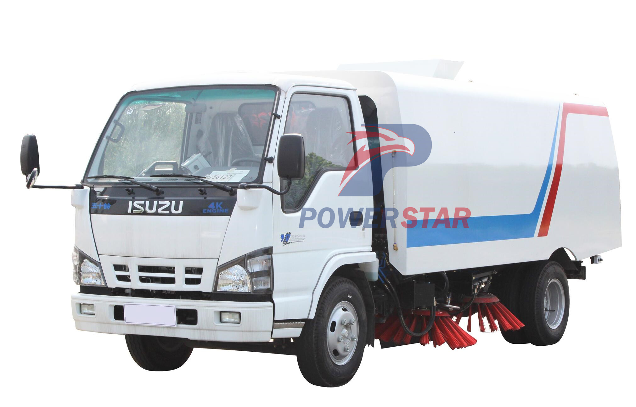 picture for Cement factory road Sweeper Truck Isuzu 5m3