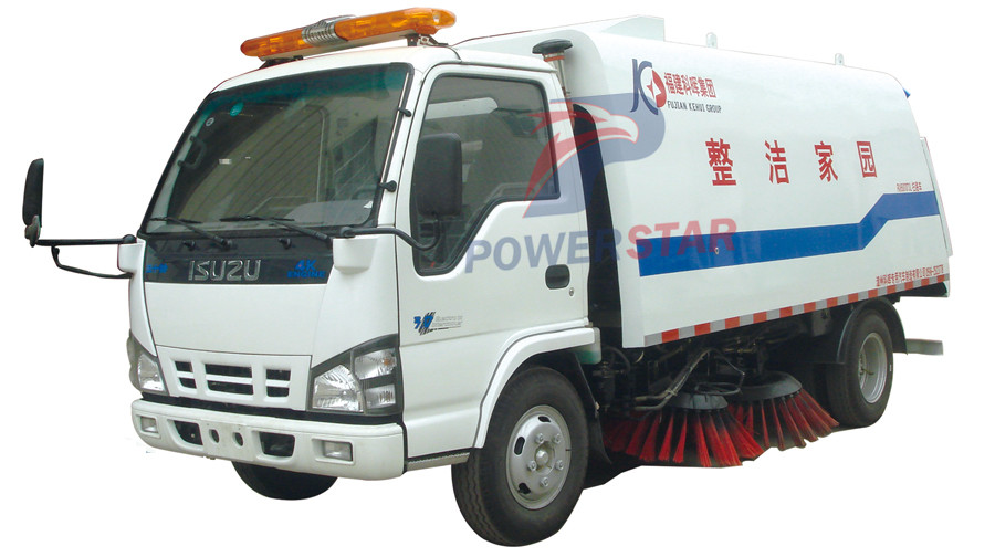 Brand new road waste sweeping Truck Isuzu 6m3