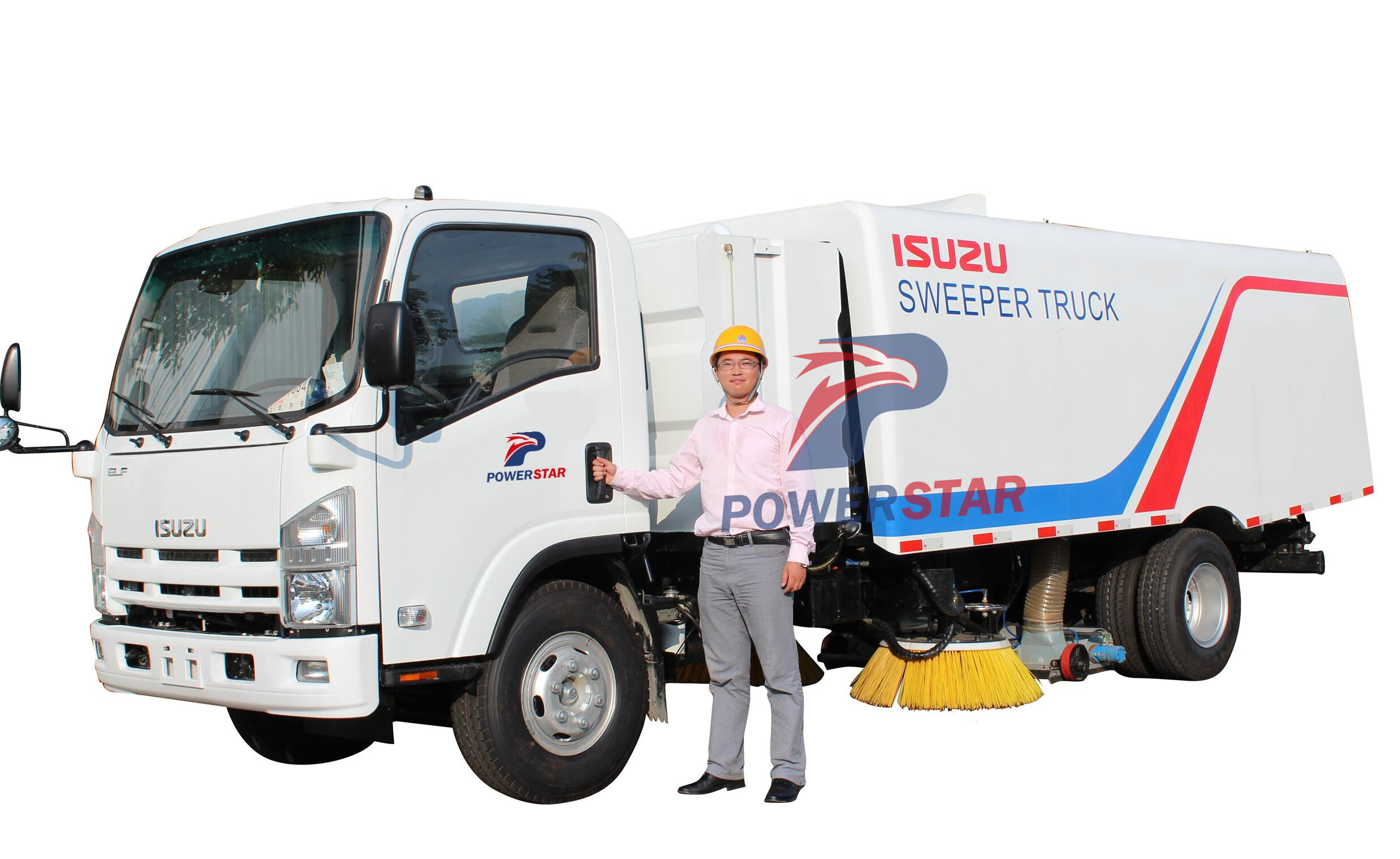 Pictures for KATO Sanitation Vacuum Road Sweeper Truck Isuzu 8m3