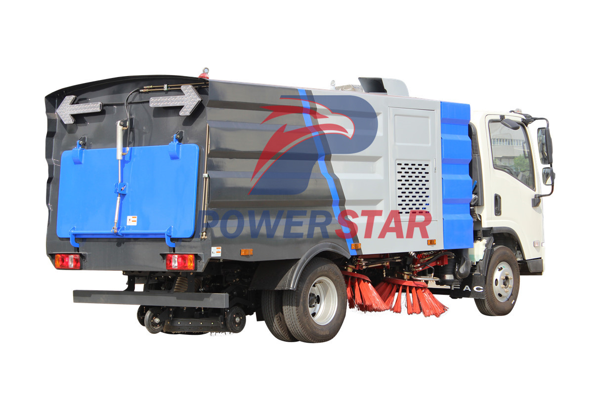 picture for High efficiency Vacuum Sweeper Truck Isuzu 3m3