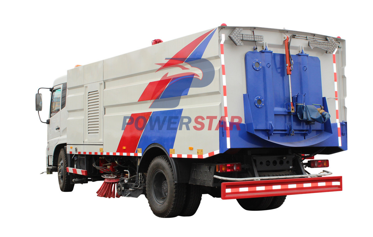 Street garbage collection sweeper Isuzu 9m3