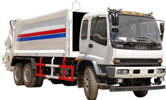 20cbm compression refuse collector truck Isuzu