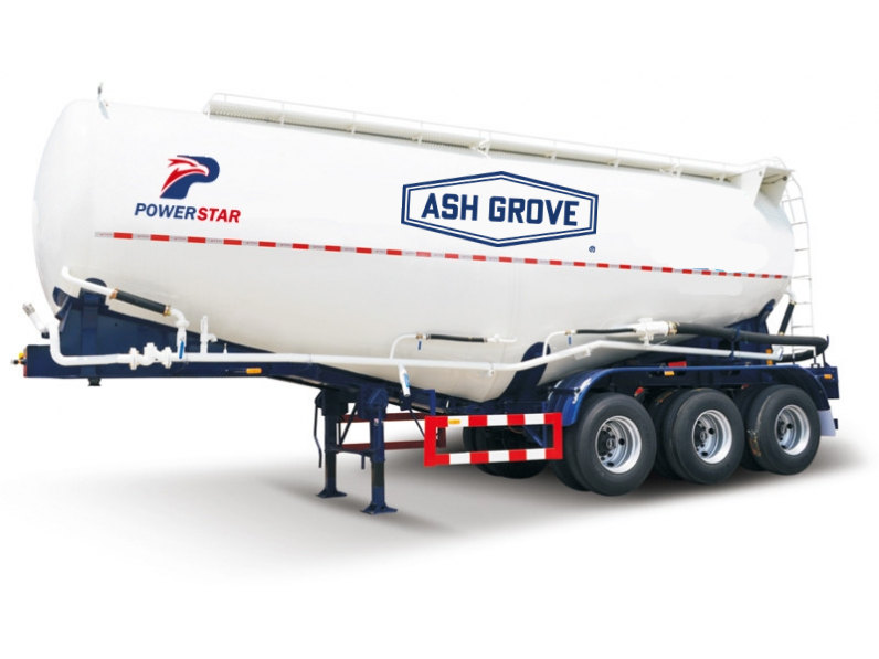 china low price good quality bulk cement trailer