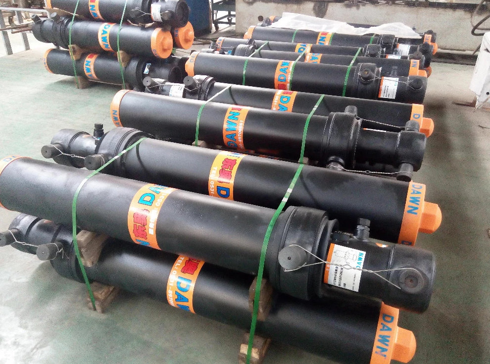 JAPAN TRUCK Telescopic Hydraulic Cylinder Lifting System for sale
