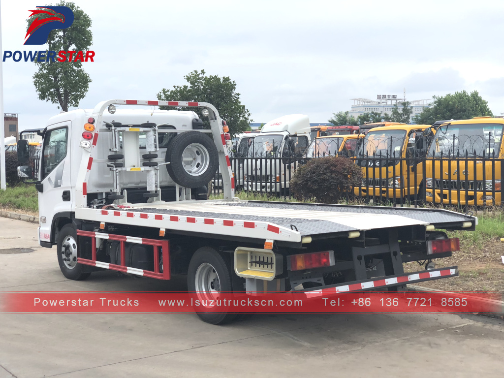 Hyundai Emergency Recovery Towing flatbed Truck for sale