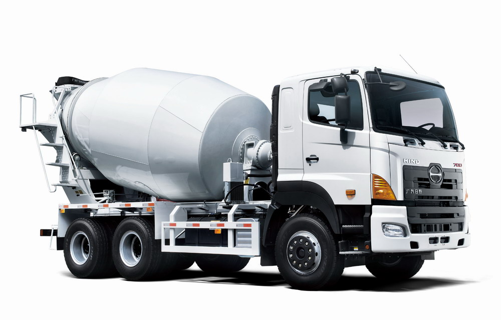 brand new HINO 8m3 Cement Truck Mixer for sale
