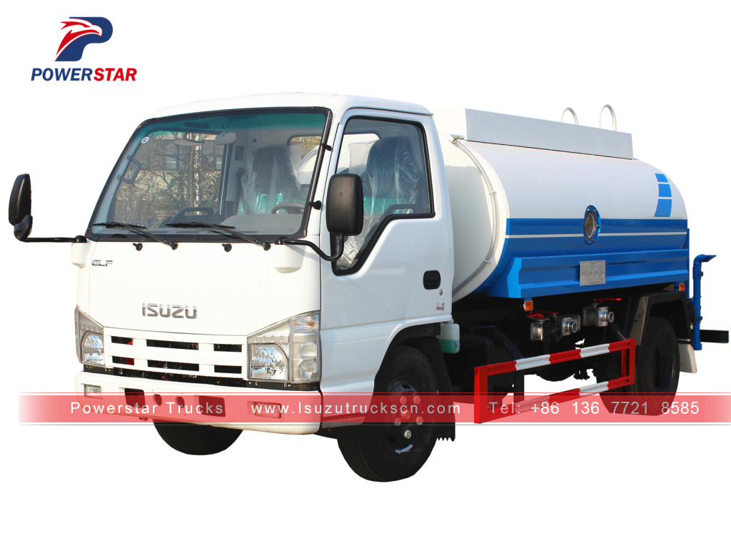 Philippines 5,000L ISUZU Water Spray Tanker Truck for sale