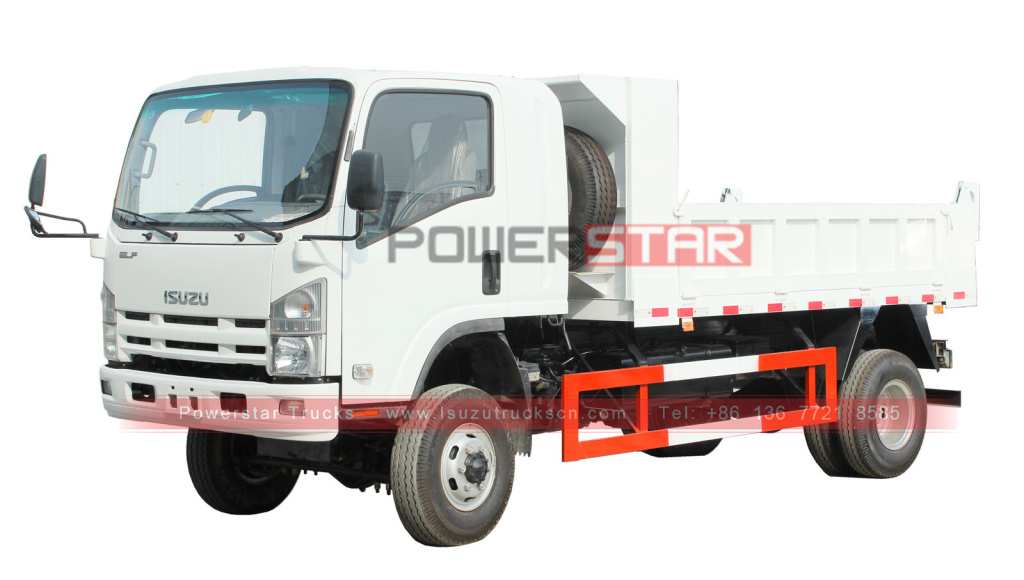 ISUZU ELF/700P/NPR 4x4 mini dump truck for sale