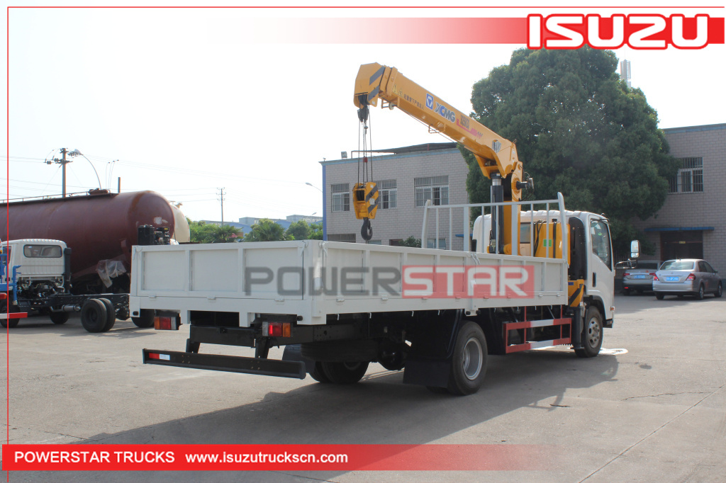 ISUZU 5tons Truck Loader Crane for sale