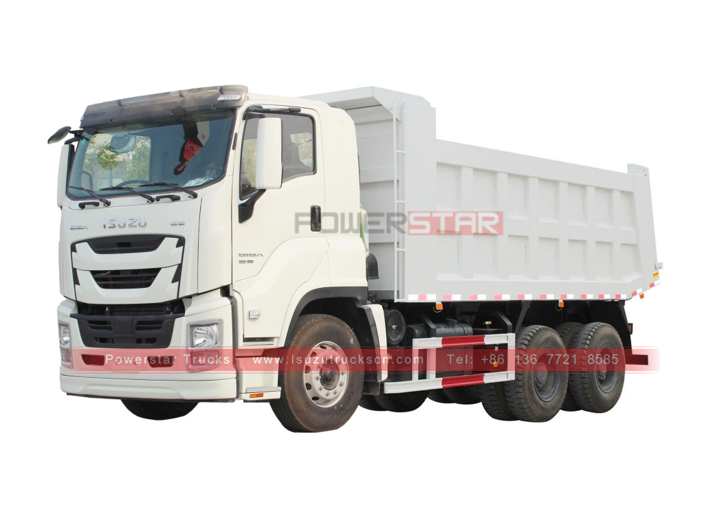 ISUZU GIGA 6x4 10wheelers Dump Truck Tippers