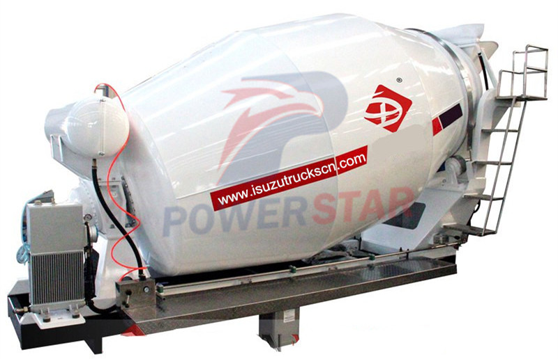 Concrete mixer truck drum tank kit