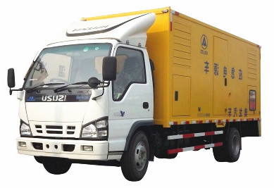 isuzu generatir power supply trucks for sale