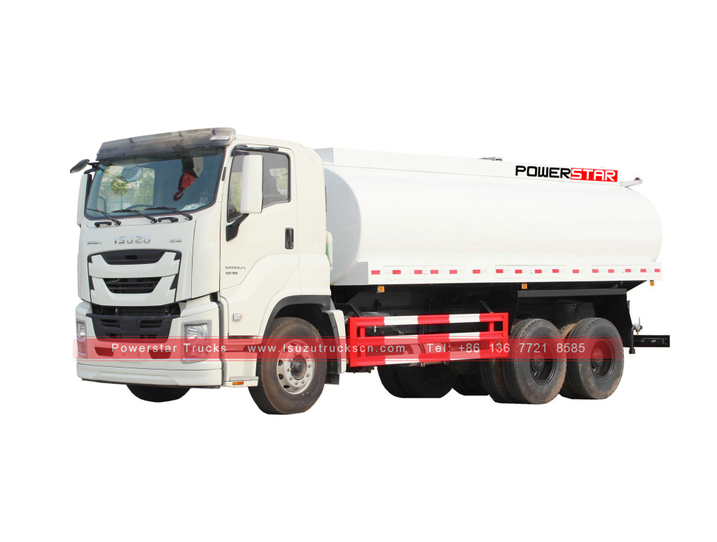 Isuzu giga water tanker trucks for sale