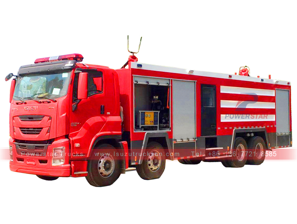 Isuzu GIGA heavy duty fire engine tender