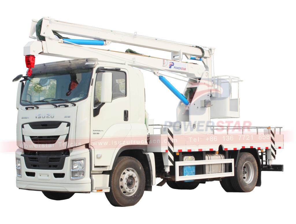 ISUZU GIGA Manlifter aerial platform trucks
