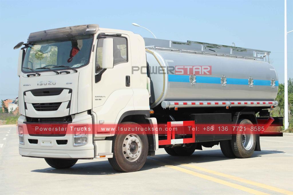 Isuzu GIGA 20,000L Fuel bowser Oil tanker trucks for sale