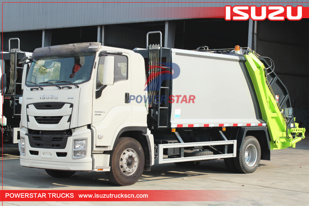 14cbm Isuzu GIGA Garbage Compactor Truck with 380Hp for sale