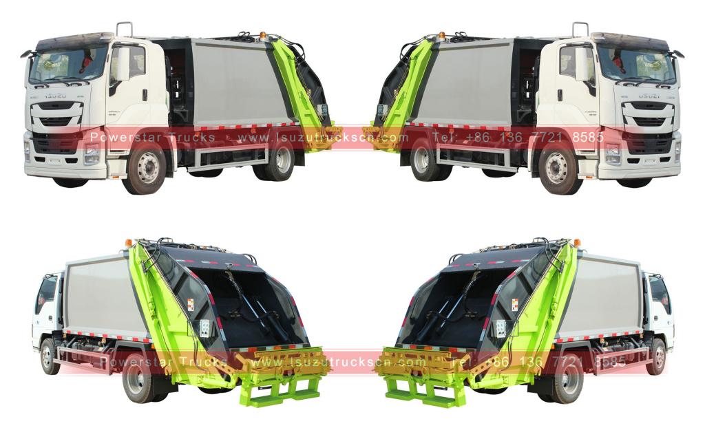 Isuzu GIGA refuse compactor trucks for sale