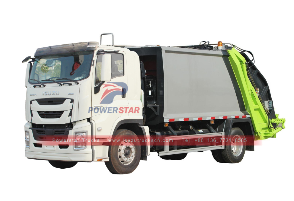 Isuzu GIGA compression garbage trucks