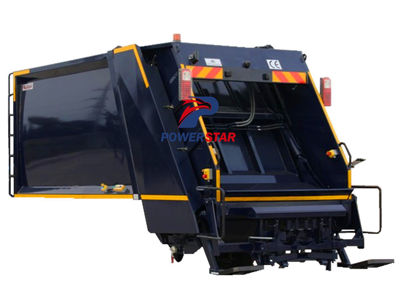 Rear loader garbage truck body kit for sale