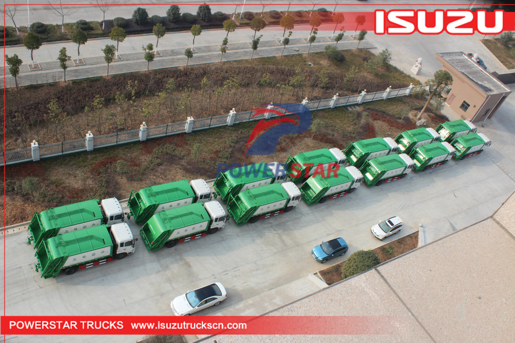 14cbm Isuzu GIGA Garbage Compactor Truck with 380Hp for sale