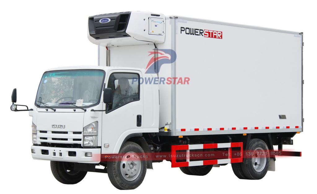 ISUZU 700P/NPR Refrigerated cooling van truck
