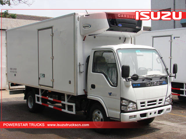 Brand new Isuzu Refrigerated vehicle Seafood Ice cream trucks for sale